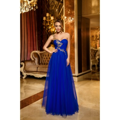 Rochie lunga din tulle